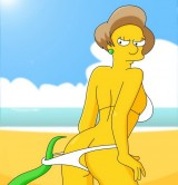 Tram Pararam with Edna Krabappel - Simpsons tram pararam Urban Sluts