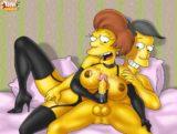Edna Krabappel at TramPararam - Simpsons tram pararam Urban Sluts